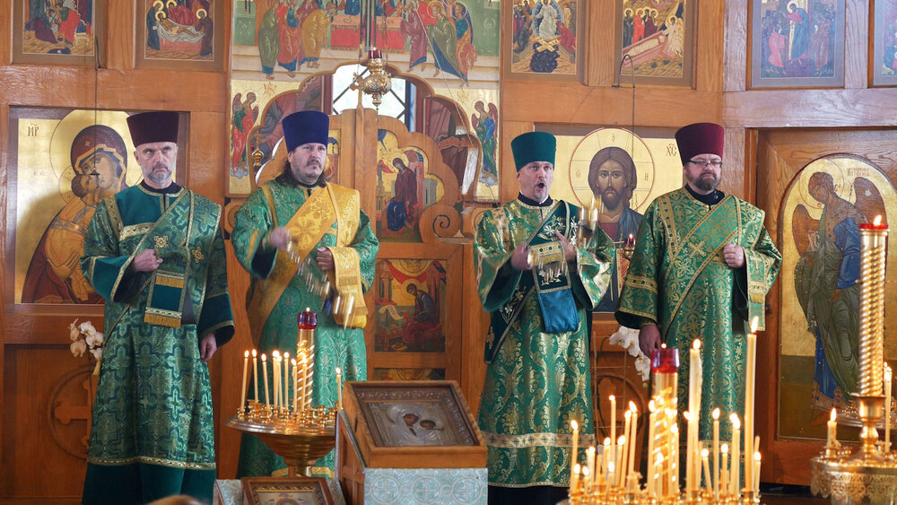 Protodeacons of the Russian Church Abroad, 2019.